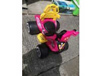 Kids battery powered quad bike