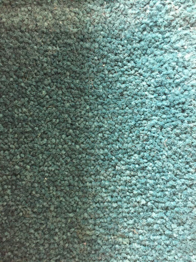 Carpet -good quality, wool, teal colour.Would fit room either 260cm ...