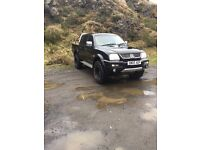 L200 , 56 plate, 120 k but engine fitted last year , 12 months mot , new off road wheels tyres