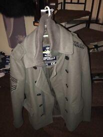 Superdry coats men's