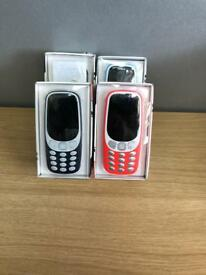 Nokia 3310 2017 Model 3G, like new. All colours available