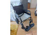 Wheelchair and cushions