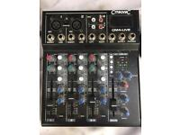 CITRONIC CM4-LIVE MIXER - 4 CHANNEL PA MIXER WITH MEDIA PLAYER