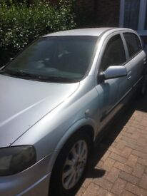 vauxhall astra for sale priced to sell mot until nov 18 good runner