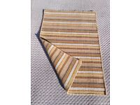 50% PRICE REDUCTION!! HAND WOVEN WOOL RUGS AVAILABLE IN 6 COLOURS