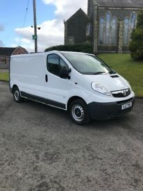 Cheap 2011 vivaro lwb full psv 3 seats central locking take small trade in