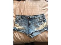 Women's size 14 jean shorts