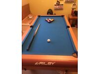 Riley Pool & Table Tennis Table