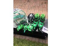 Cosmic Tri In-line Skates & Protection Pack