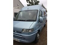 Citroen relay 2.8 hdi 2001 y reg coach built sterling 91622 miles mot till march 2018 2 berth
