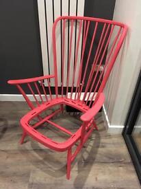Ercol high back chair