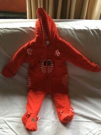 Snowsuits , various sizes under 2 years, excellent condition