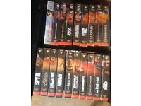 Full James's Bond VHS set (have a look)