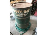 Two 45 gallons drums