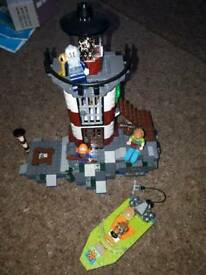 Scobby-doo lego light house set NOW retired