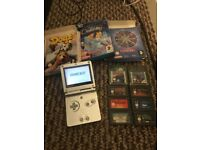 Gameboy advance sp 11 games