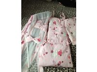 Hello kitty complete cot set