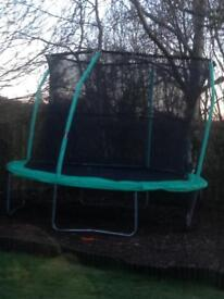 10ft trampoline and surround