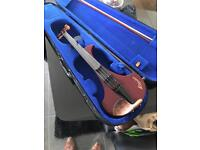 Rare Skyinbow Electric violin fiddle with case cheap