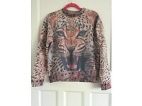 Dead Lovers Run Wild Leopard Jumper