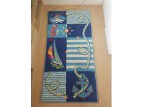 Nautical themed childrens rug