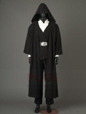 The Last Jedi Luke Skywalker Projection Crait Cosplay Costume mp003859