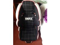 15-36 kg car seat by Jane E9 indy racing team
