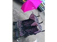 Double buggy for sale. Cosatto!!