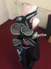 Ladies golf set with bag