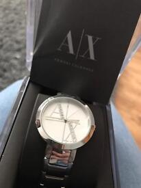 Women's Silver Armani Watch