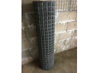 kindling/firewood - welded mesh - garage/shed racking