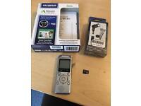 Olympus WS-811 Voice Recorder, Mic & Micro SD