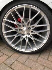 2 month old Veemann vfs34 & pirelli pzero tyres 225 35 19 £970 Ono