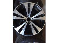 1 genuine VW Diamond Cut Alloy Wheel ET41