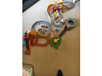 Three sets of Thomas take and play with trains