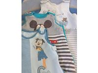 Baby boy sleeping bag bundle 0-6 months