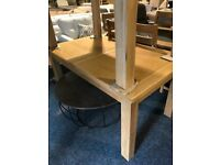 Solid oak extend table