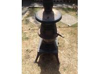 cast iron stove wood burner