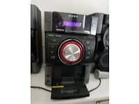 Sony cd player with ipod docking station