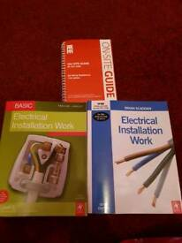 Electrical Installation books x3