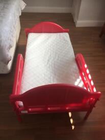Child's Mickey Mouse bed