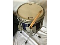 Premier HTS 800 Snare Drum With Stand and Randall May Vest