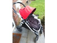 City Select Baby Jogger with accessories