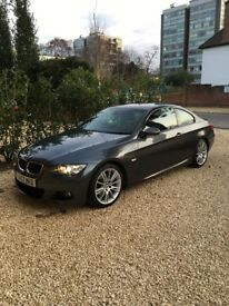 2007 BMW 3 Series 320i M sport Coupe Manual 2 door Grey