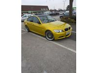 BMW E90 330D M- SPORT LEMON GOLD