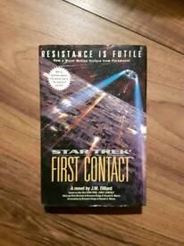 Star Trek First Contact hardback 1996
