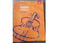 Grades 1-3 Violin old specifications