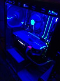 Gaming pc Bought for around £500 fairly new great computer runs games very well,really good present