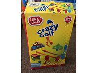 Crazy golf for kids