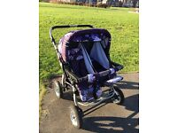Double 'Baby Lux Twin' Pushchair Buggy